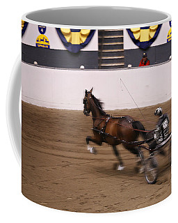Coffee Mug featuring the photograph Road Pony At Speed by Carol Lynn Coronios