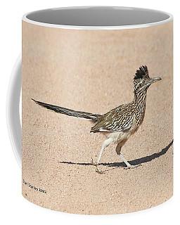 Road Runner On The Road Coffee Mug by Tom Janca