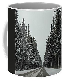 Road To Banff Coffee Mug by Cheryl Miller