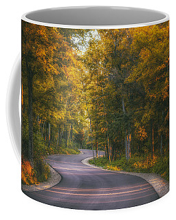 Road To Cave Point Coffee Mug