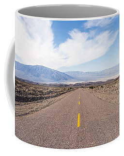 Road To Death Valley Coffee Mug