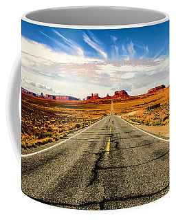 Road To Navajo Coffee Mug