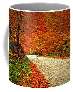 Road To Nowhere Coffee Mug by Bill Howard