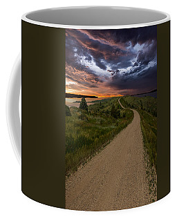 Road To Nowhere - Stormy Little Bend Coffee Mug