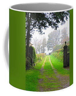 Coffee Mug featuring the photograph Road To Nowhere by Suzanne Oesterling