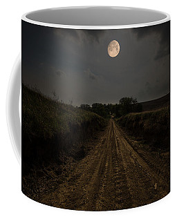Road To Nowhere - Waxing Gibbous Moon Coffee Mug