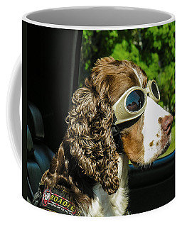 Coffee Mug featuring the photograph Roadie by Betty Denise