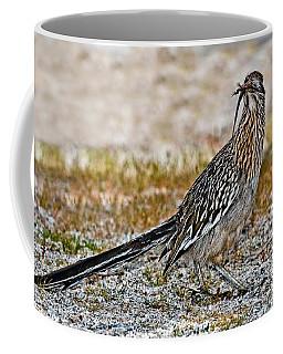 Roadrunner With Lizard Coffee Mug
