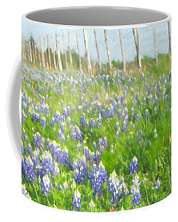Roadside Bluebonnets  Coffee Mug