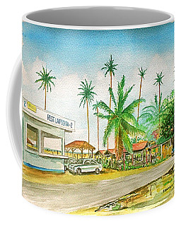 Roadside Food Stands Puerto Rico Coffee Mug by Frank Hunter