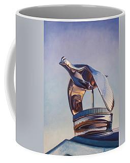Coffee Mug featuring the painting Roadster by Joe Winkler