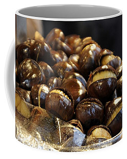 Coffee Mug featuring the photograph Roasted Chestnuts by Lilliana Mendez