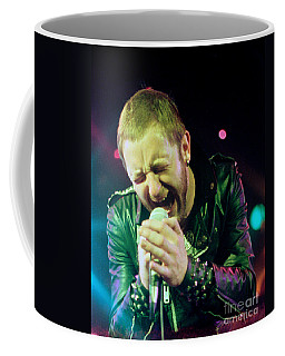 Rob Halford Of Judas Priest Without Flames Effect- Warfield Theater During British Steel-unreleased  Coffee Mug