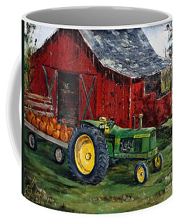 Rob Smith's Tractor Coffee Mug by Lee Piper