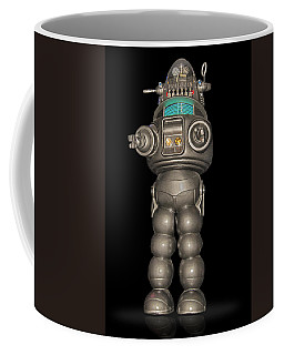 Robby The Robot Coffee Mug by Gary Warnimont