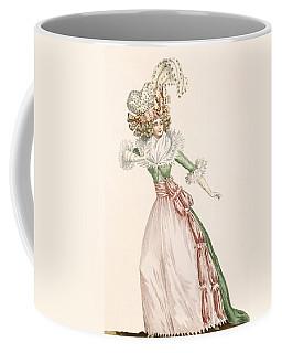 Robe De La Czarine, Plate From Galeries Coffee Mug