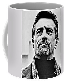 Robert De Niro Portrait Coffee Mug