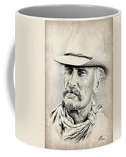 Robert Duvall Sepia Scratch Coffee Mug