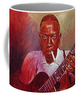 Robert Johnson Photo Booth Portrait Coffee Mug