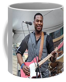 Coffee Mug featuring the photograph Robert Randolph  by Fiona Kennard