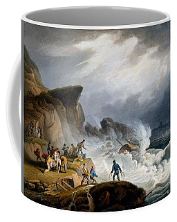 Robin Hoods Bay, Yorkshire, 1825 Coffee Mug