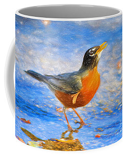 Robin In Florida Coffee Mug