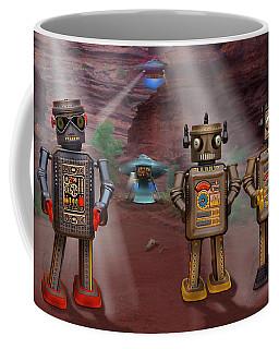 Robots With Attitudes  Coffee Mug