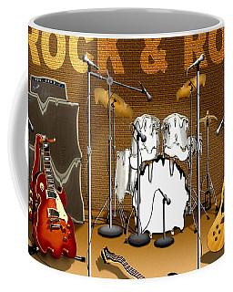 Rock And Roll Meltdown Coffee Mug