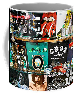 Rock And Roll On St. Marks   Nyc Coffee Mug