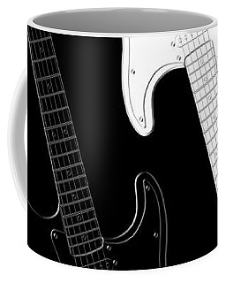 Rock And Roll Yin Yang Coffee Mug