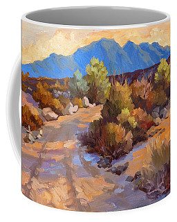 Rock Cairn At La Quinta Cove Coffee Mug by Diane McClary