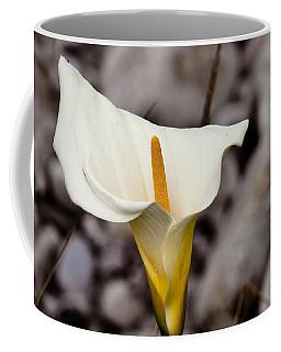 Rock Calla Lily Coffee Mug