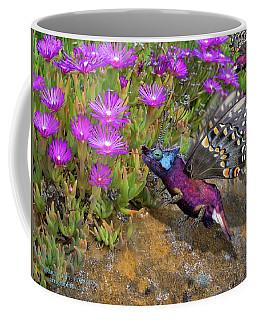 Rock Flower Birguana Fly Coffee Mug