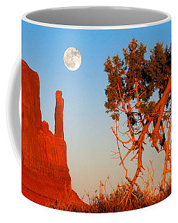 Rock Formations, Monument Valley Tribal Coffee Mug