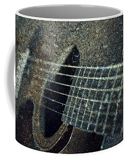 Rock Guitar Coffee Mug by Photographic Arts And Design Studio