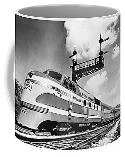 Rock Island Line Rocket Train Coffee Mug