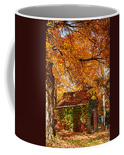 Coffee Mug featuring the photograph Rock Of Ages Surrouded By Color by Jeff Folger