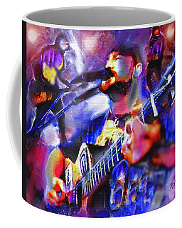 Coffee Mug featuring the painting Rocker by Ted Azriel