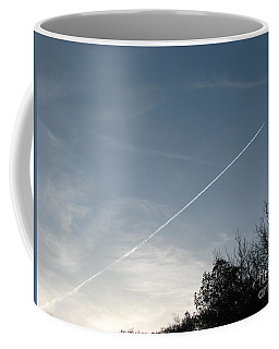 Coffee Mug featuring the photograph Rocket To The Stars by Michael Krek