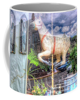 Coffee Mug featuring the photograph Rockey's Horse by Lanita Williams