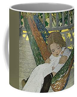 Rocking Baby Doll To Sleep Coffee Mug