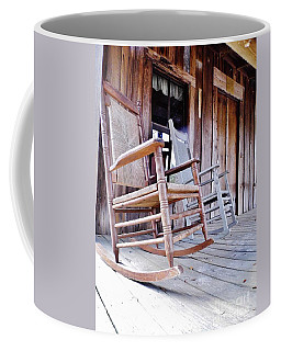 Rocking On The Front Porch Coffee Mug by D Hackett