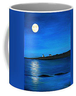 Rockport Harvest Moon Coffee Mug by Eileen Patten Oliver