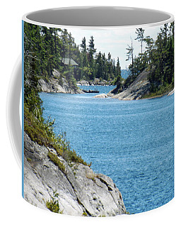 Rocks And Water Paradise Coffee Mug