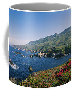 Rocks In The Sea, Carmel, California Coffee Mug