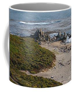 Rocks On Carmel Bay Coffee Mug
