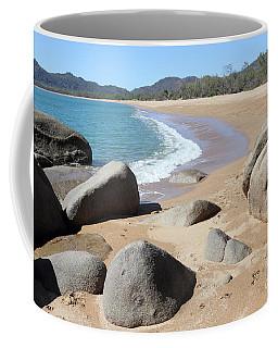 Rocks On The Beach Coffee Mug