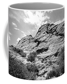 Rockscape In Greys Coffee Mug