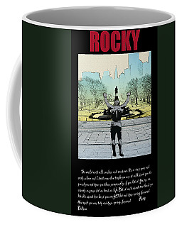 Rocky - All Sunshine And Rainbows Coffee Mug