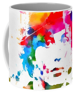 Rocky Balboa Paint Splatter Coffee Mug